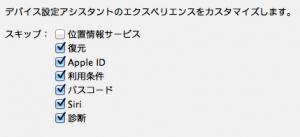 iPad mini setting
